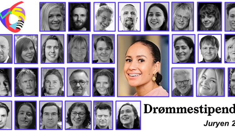 Drømmestipendjuryen 2020 er fulltallig og klar til innsats