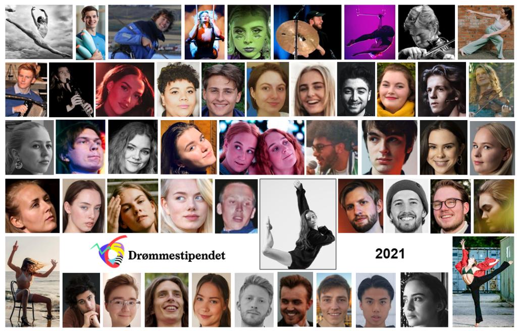 Her er alle mottakerne av Drømmestipendet 2021