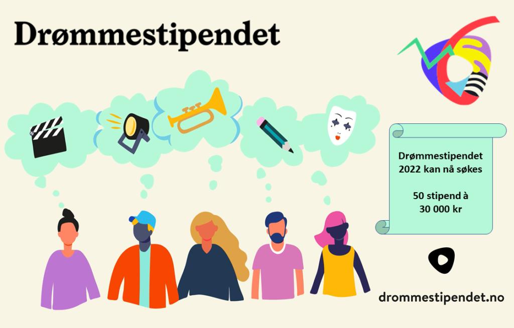 Søknadsportalen åpen for Drømmestipendet 2022