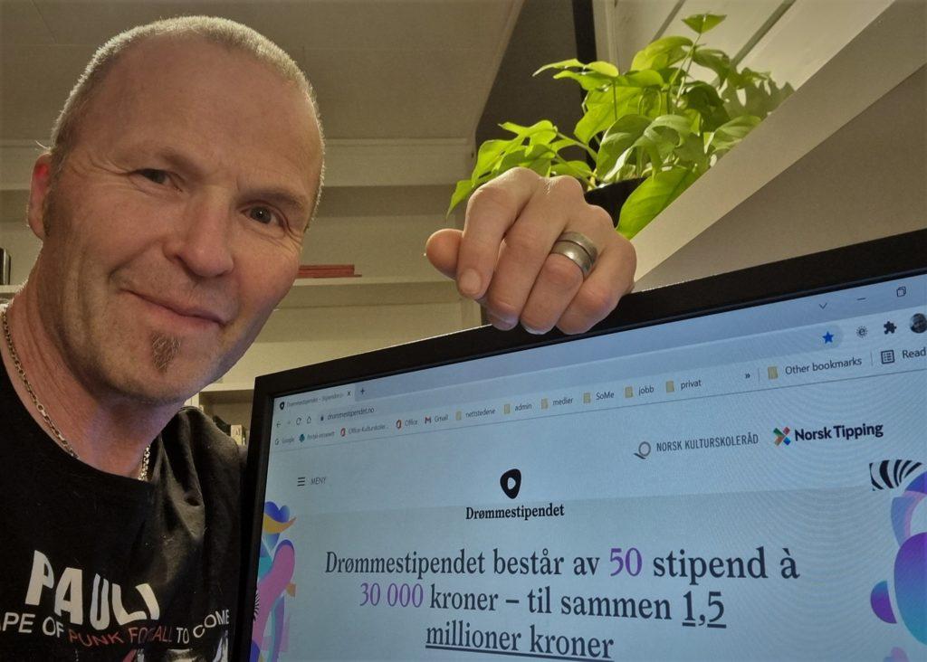 Drømmestipendjuryen 2022 presenteres – dagens medlem: Egil Hofsli